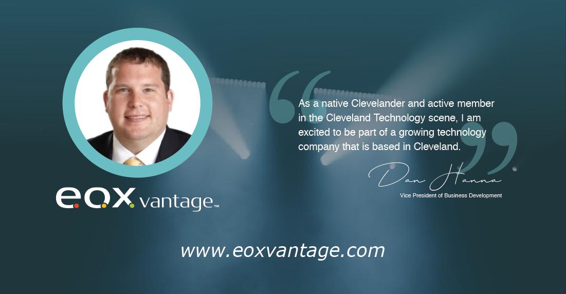 EOX Vantage Welcomes New VP of Business Development