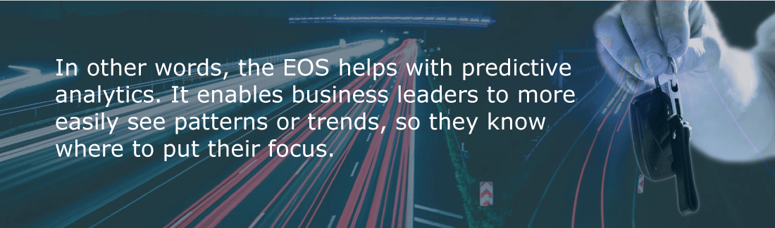 The EOS helps with predictive analytics