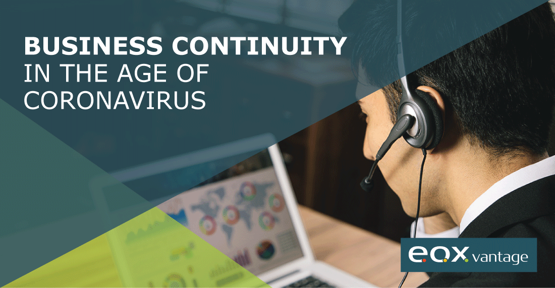 Business Continuity in the Age of Coronavirus