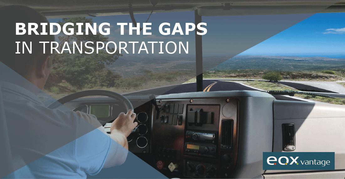 gain visibility of data to bridge gaps
