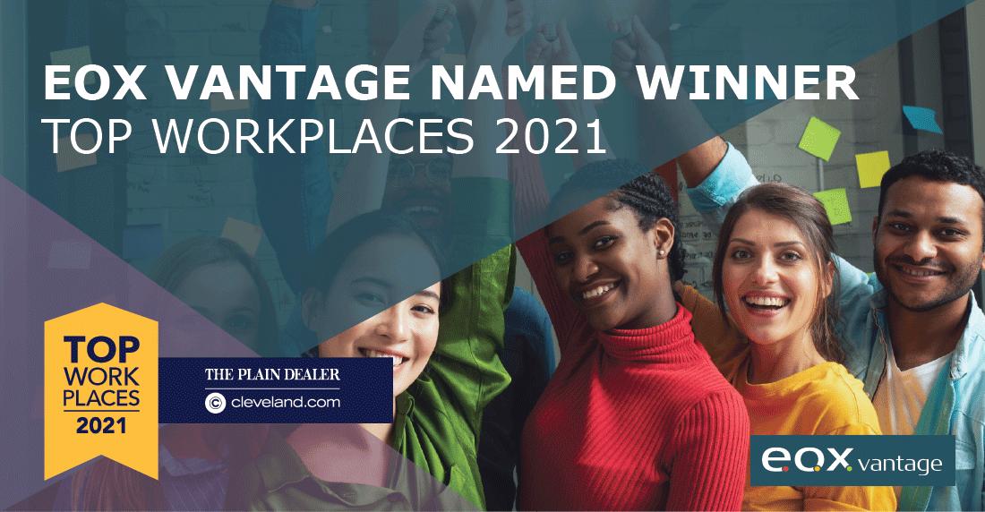 Plain Dealer Top Workplaces 2021