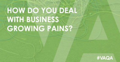 How to deal with growing business pains?