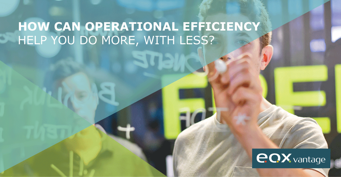 How Can Operational Efficiency Help You Do More, With Less?