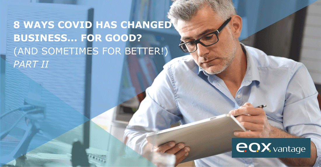 8 ways COVID has changed business